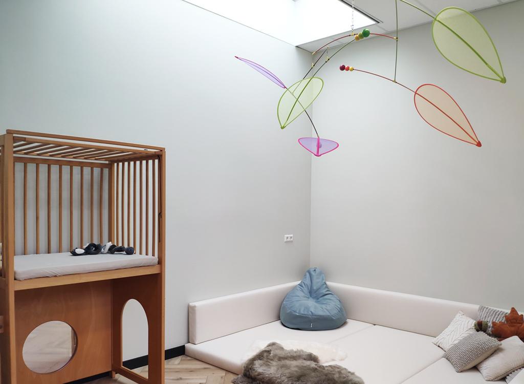 De babywoonkamer in Nova